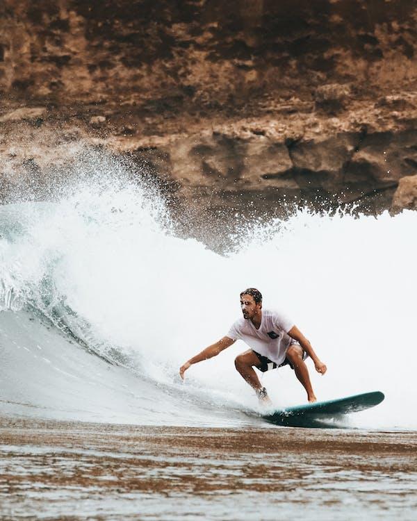 človek, Havaj, mávať