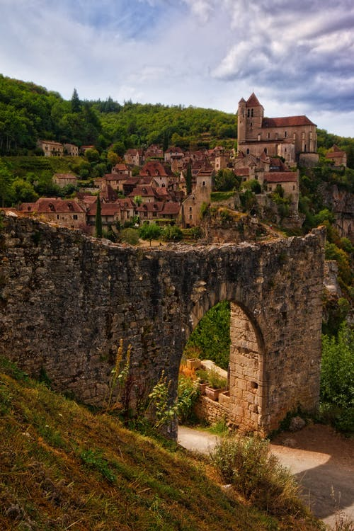 Free stock photo of france, Saint-Cirq Lapopie, village