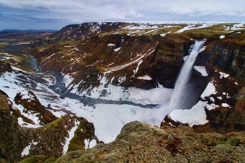 Free stock photo of haifoss, Háifoss Waterfall, halfoss, iceland