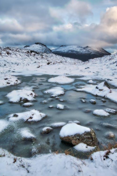 Gratis lagerfoto af bjerg, dagslys, forkølelse, frossen