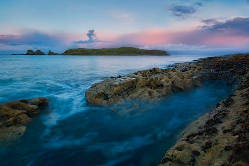 Gratis lagerfoto af hav, havudsigt, islandmagee, kystvejskyst