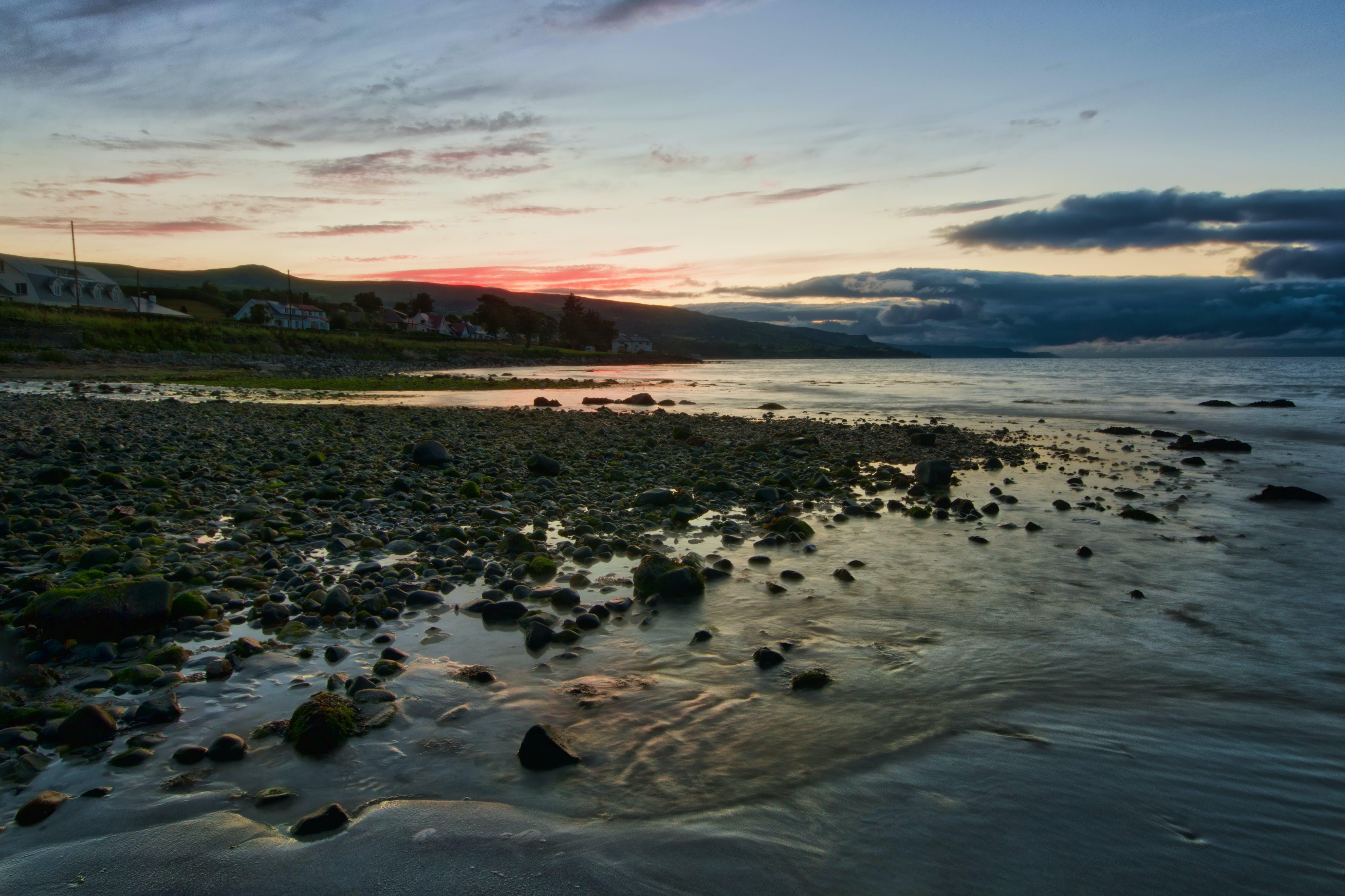 Foto profissional grátis de ballygalley, condado antrim, irlanda do norte, mar