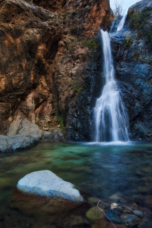 Immagine gratuita di acqua, ambiente, cascata, flusso