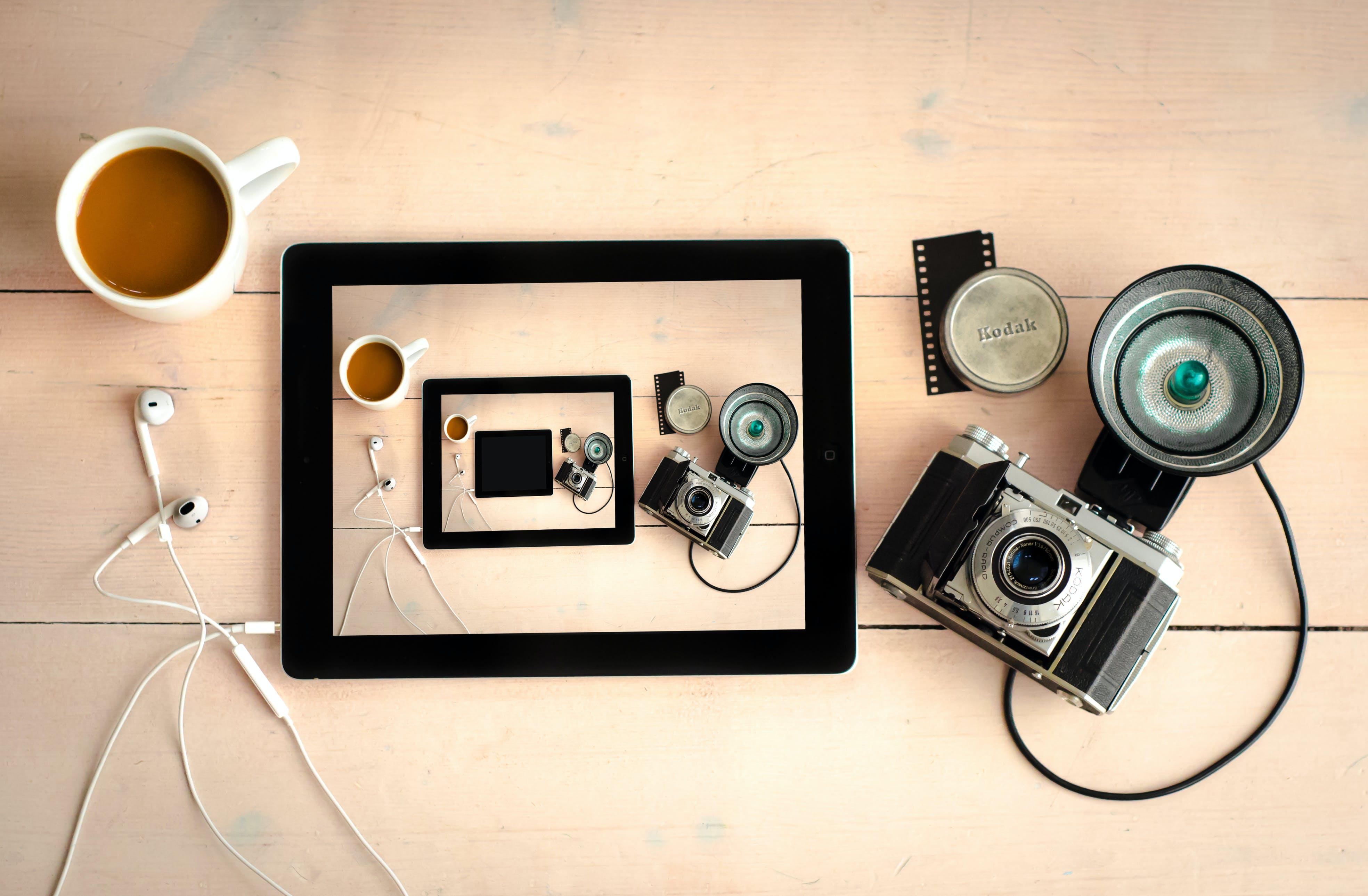 analog, art, camera