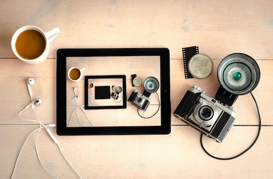 Free stock photo of wood, art, coffee, camera