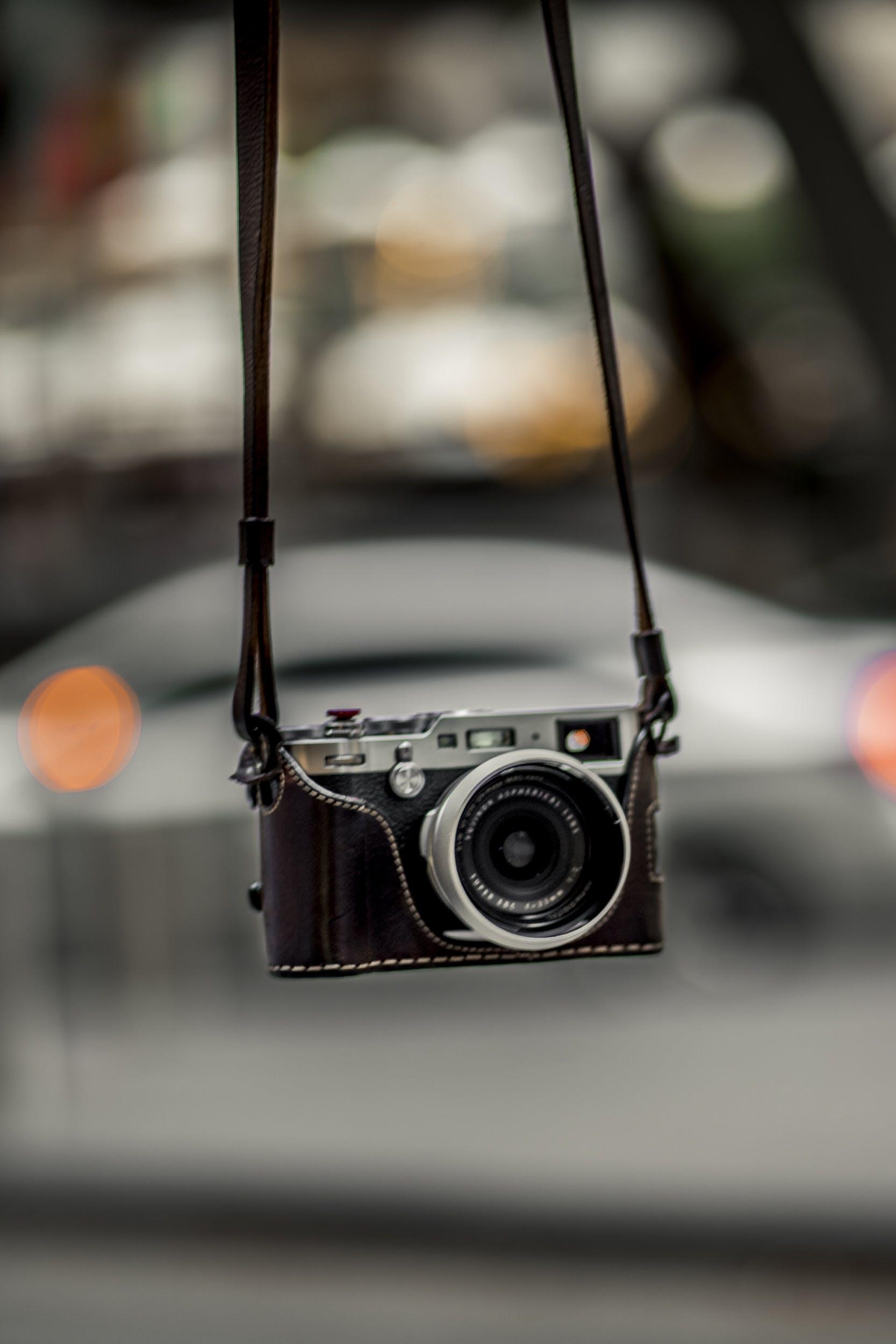Close-Up Photo of Camera