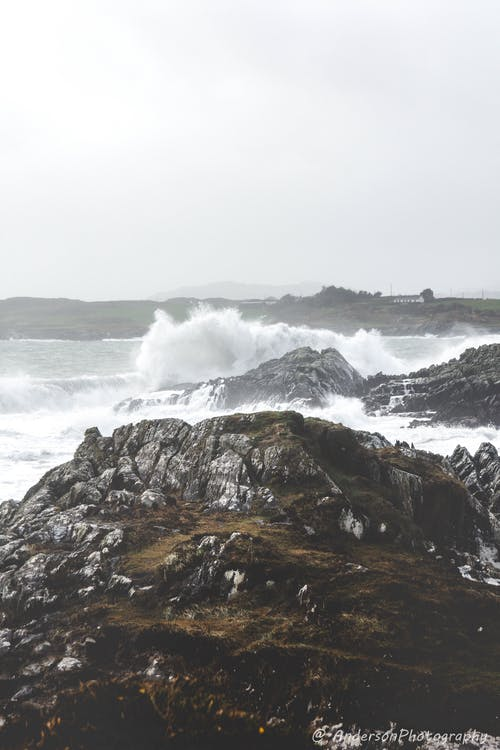 Free stock photo of gray, gray sky, ireland