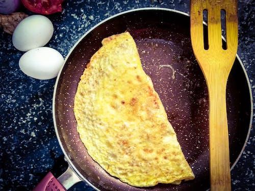 Gratis arkivbilde med omelett
