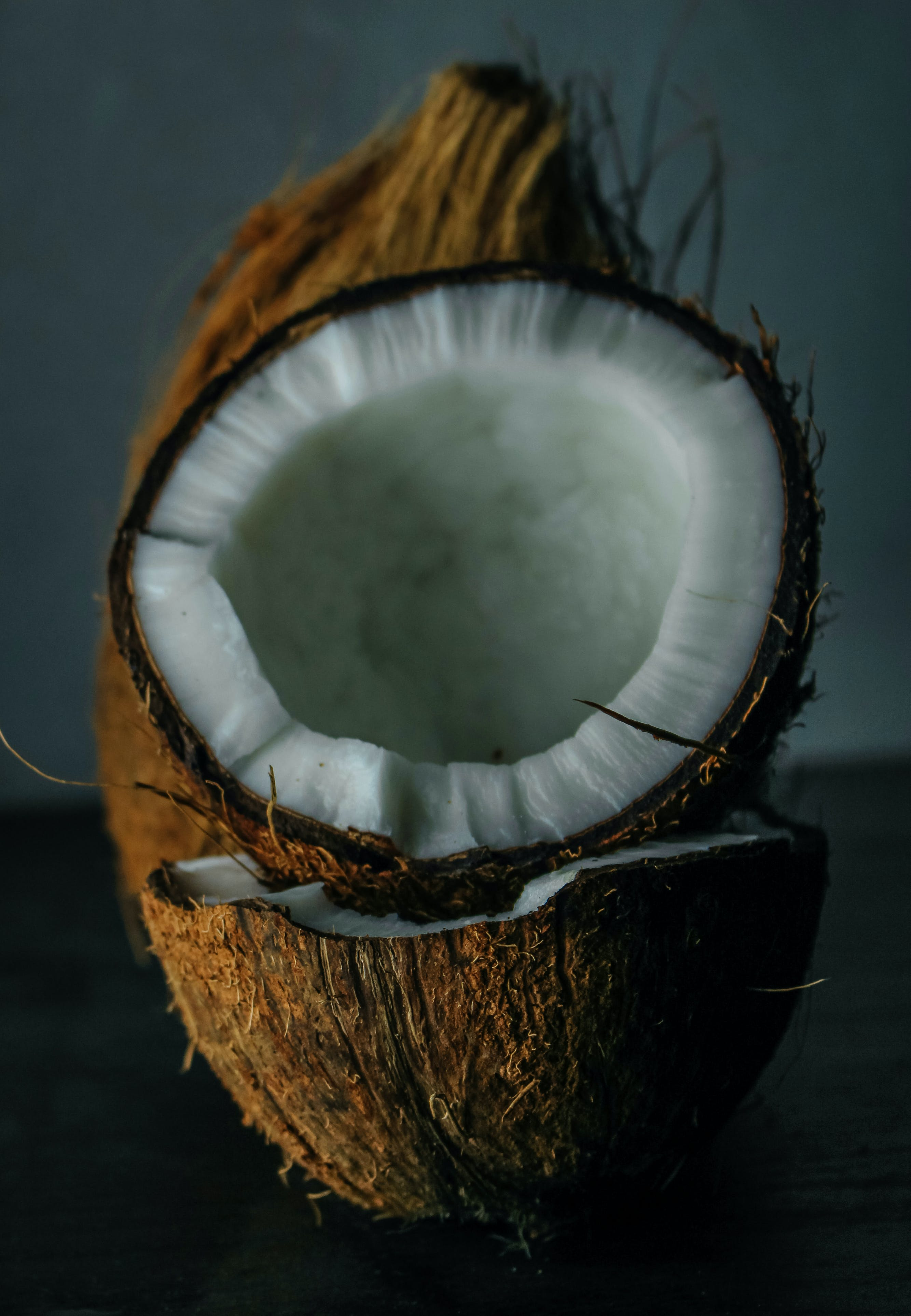 Close-Up Photo Of Coconut