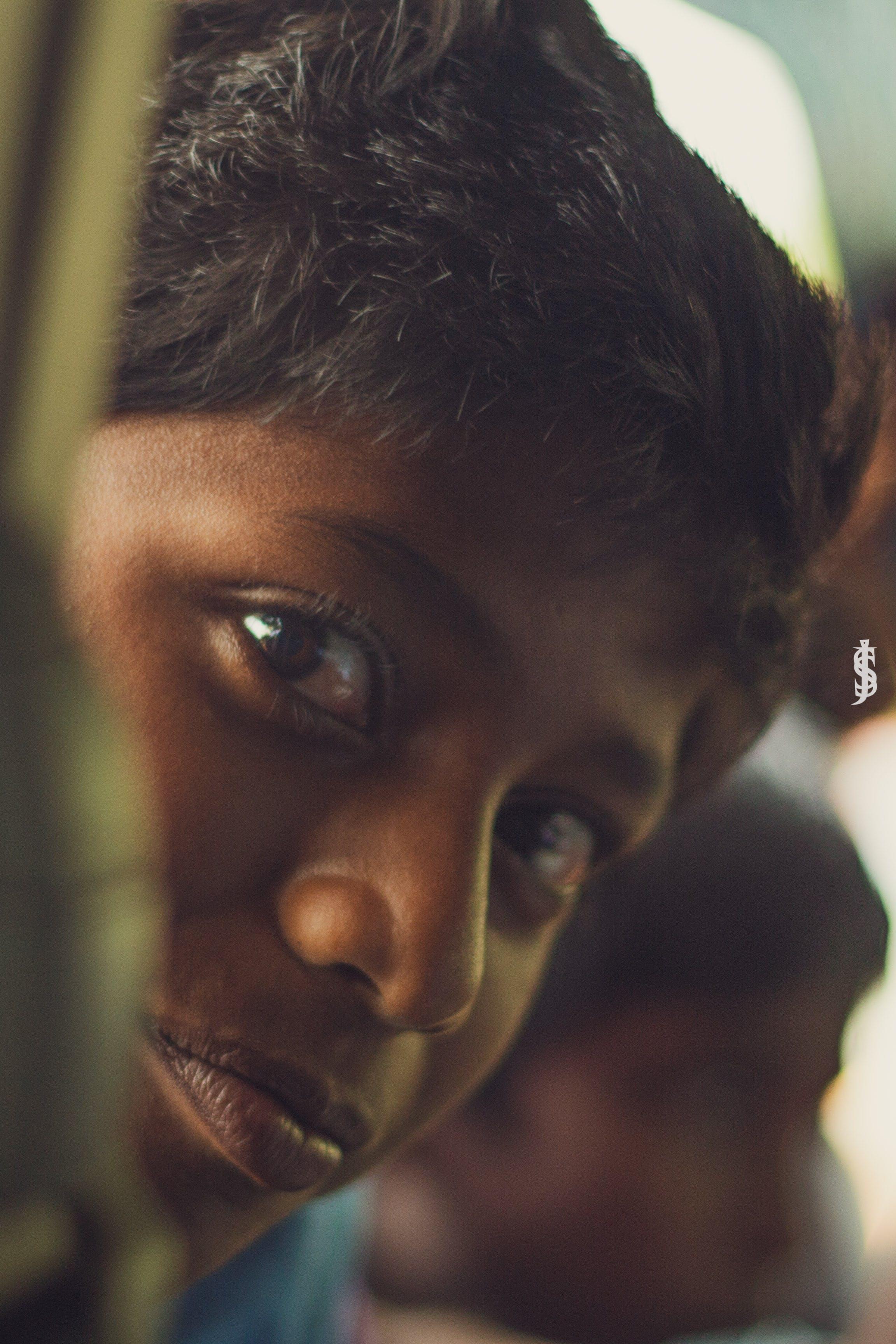 Free stock photo of black, deep, eyes, hairs
