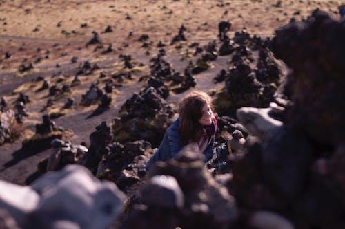 คลังภาพถ่ายฟรี ของ หิน, หินมอส, ไอซ์แลนด์