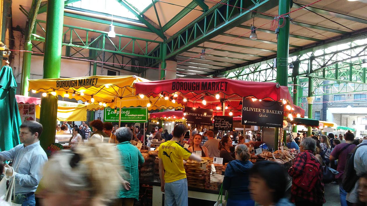 Free stock photo of borough market, food market, london