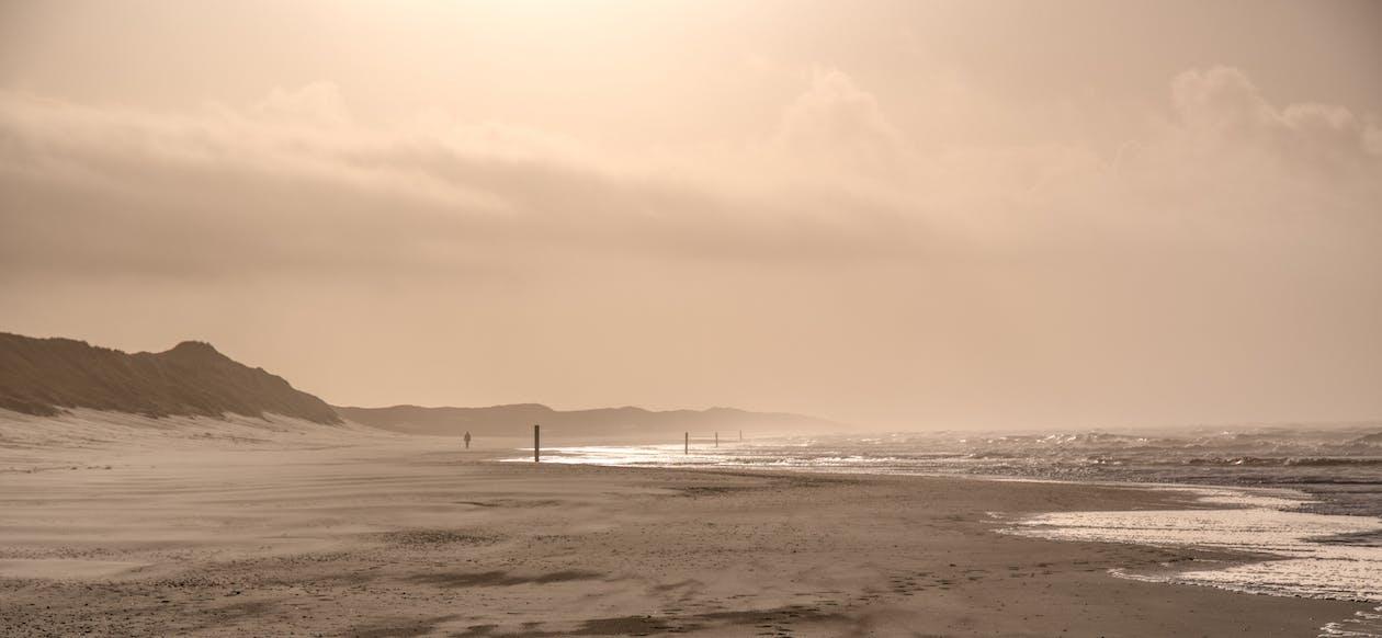 Kostnadsfri bild av hav, landskap, sanddyner