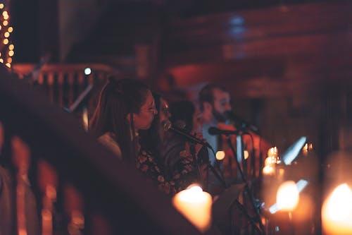 Ingyenes stockfotó boke, éjszaka, emberek, énekesek témában