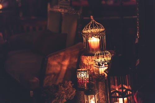 Foto profissional grátis de abajur, ambiance, ardente, arte