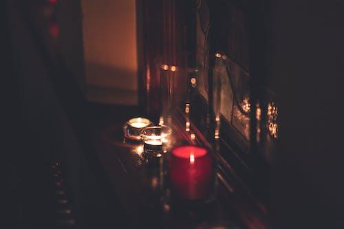 Foto stok gratis api, cahaya, cahaya lilin, dibakar
