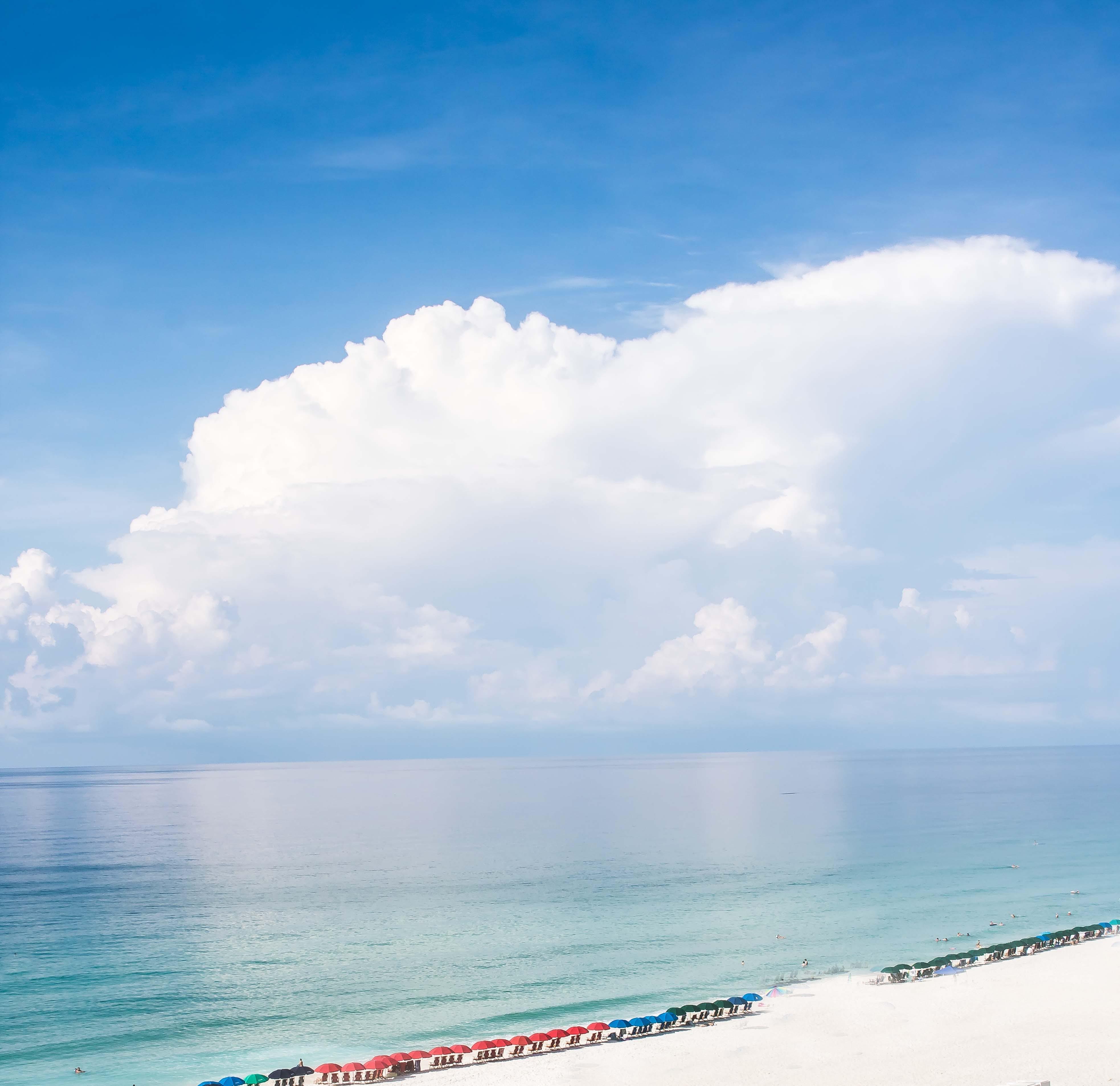 Free stock photo of beach, blue sky, cloud, florida