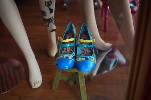 Imagine de stoc gratuită din pantofi de manechine albastre