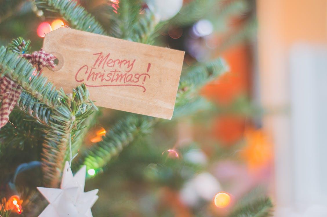 dekoration, firande, jul
