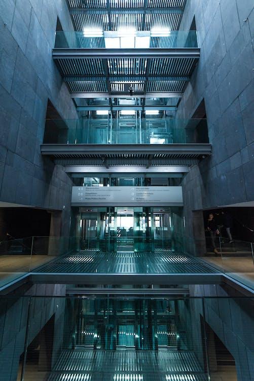 Building Interior Empty of People
