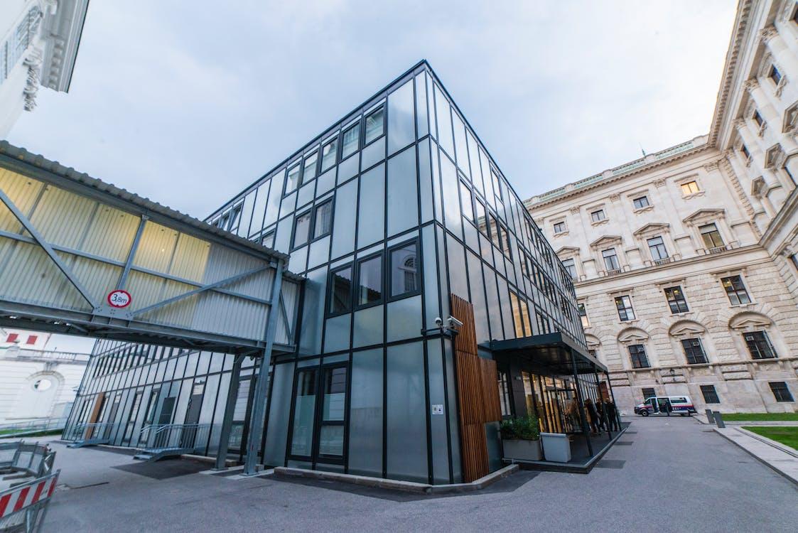 arquitectura, arquitectura moderna, edifici comercial