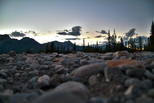 Darmowe zdjęcie z galerii z alberta, góry, kanada, zachód słońca