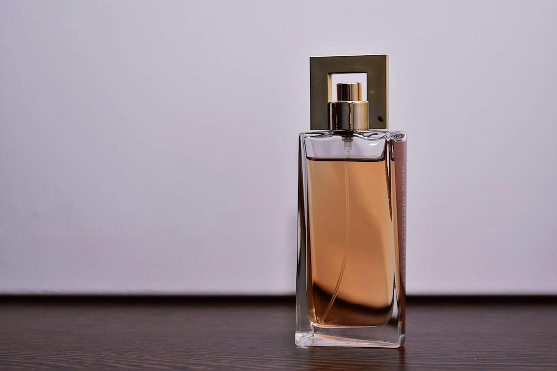 Foto De Close Up De Frasco De Perfume