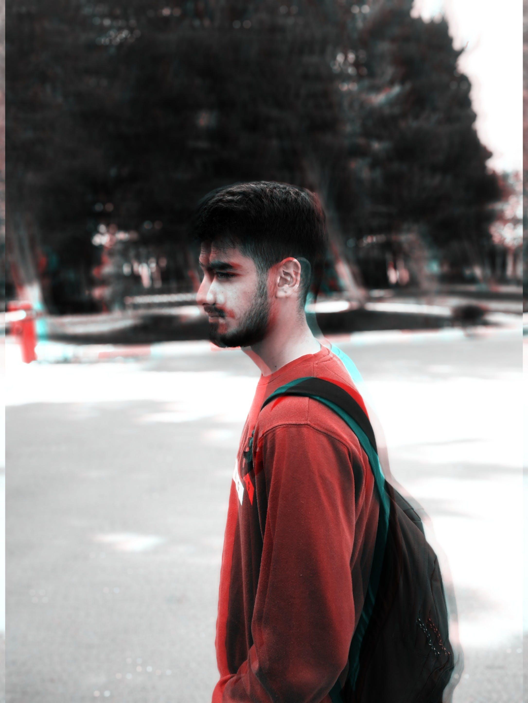 Free stock photo of man, red man, \portrait