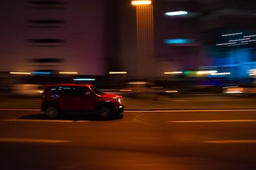 Fotobanka sbezplatnými fotkami na tému auto, pohyb, rozmazané línie