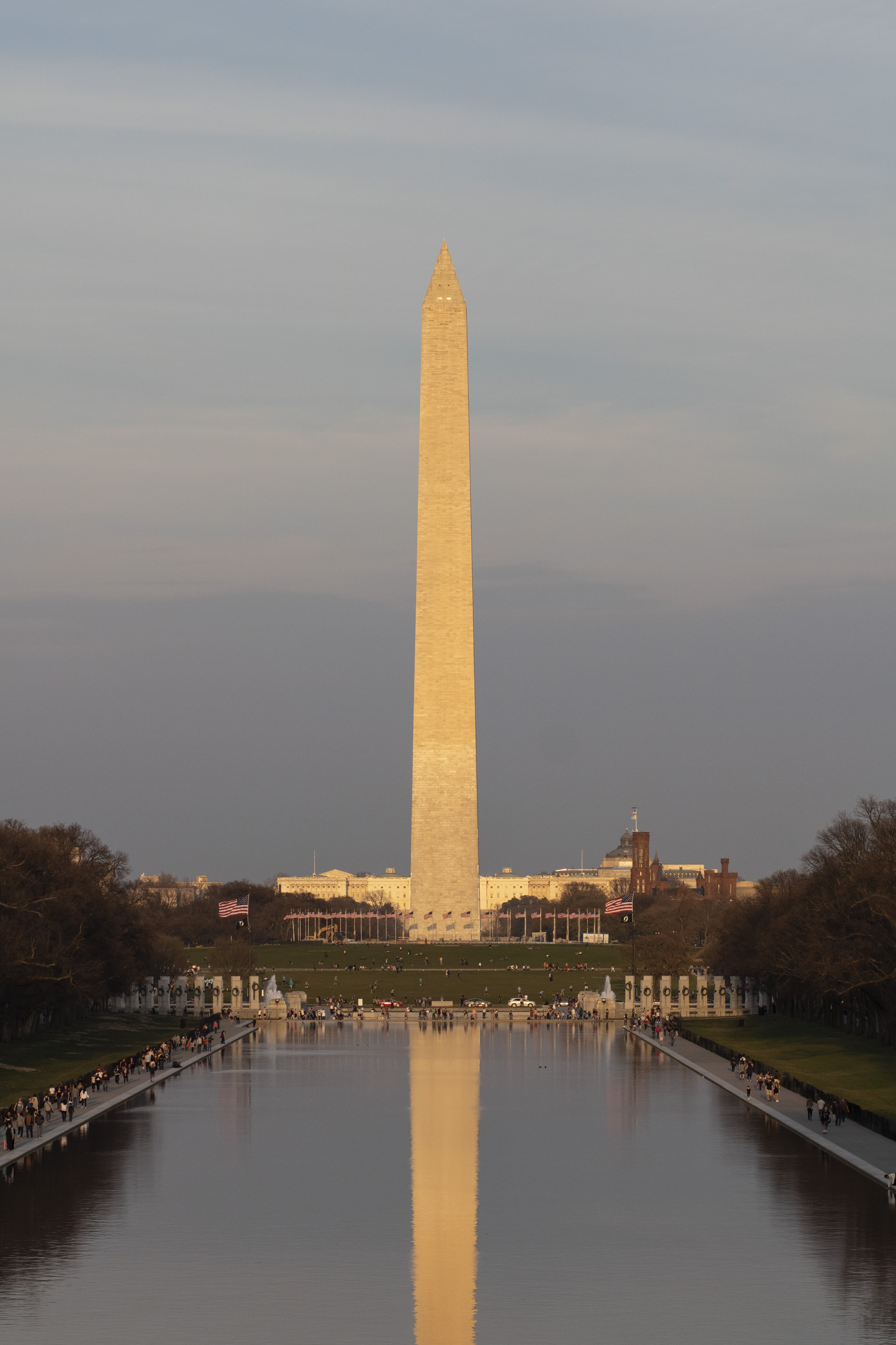 Free stock photo of abraham lincoln, dc, lincoln memorial, lincoln memorial reflecting pool