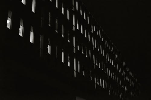 High-rise Building at Night