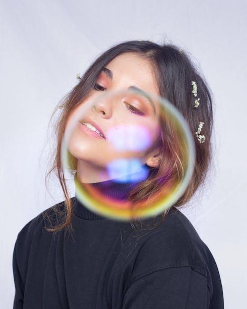 Безкоштовне стокове фото на тему «бульбашки повітря, жінка»