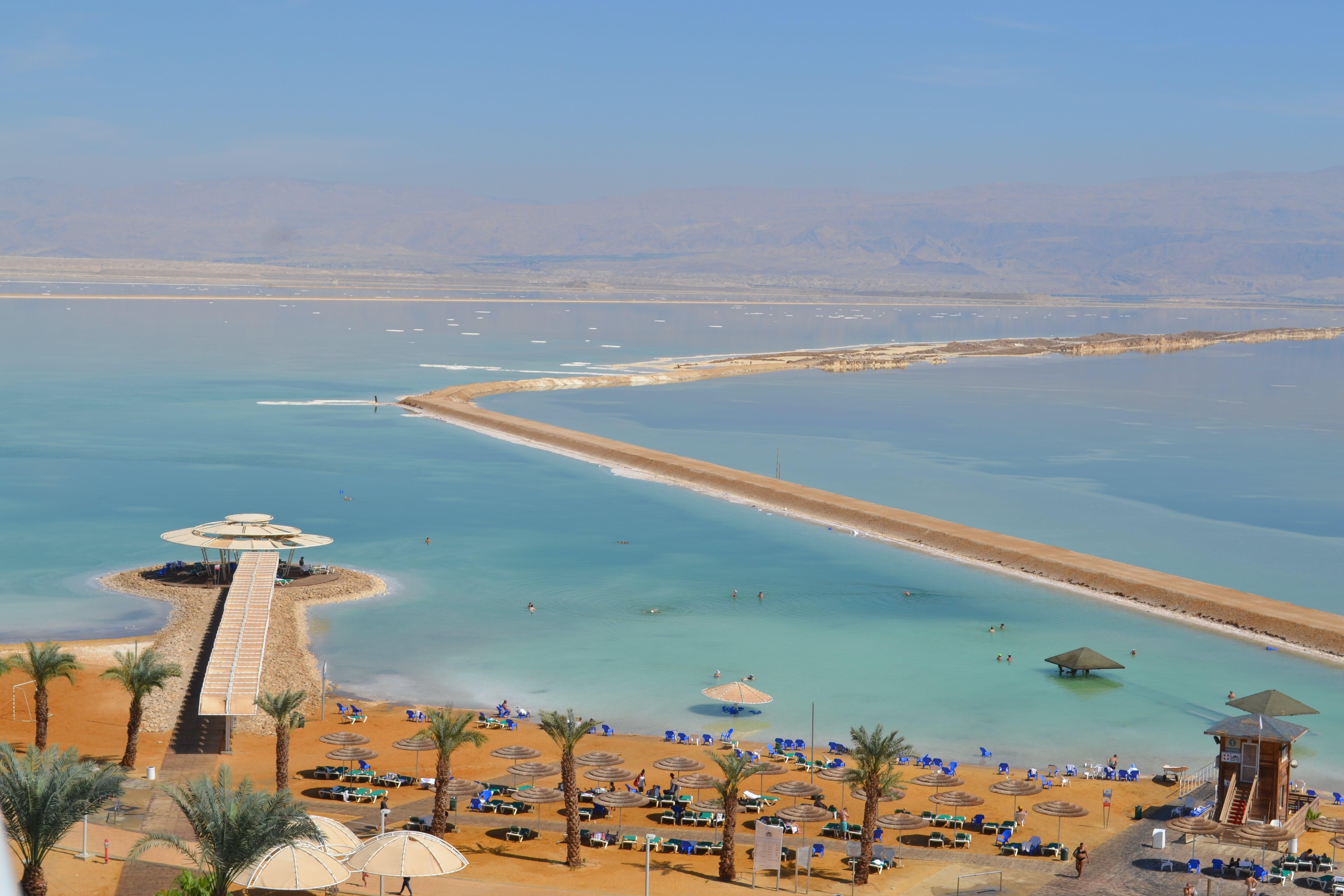 Free stock photo of beach, beautiful view, Dead Sea, no edit