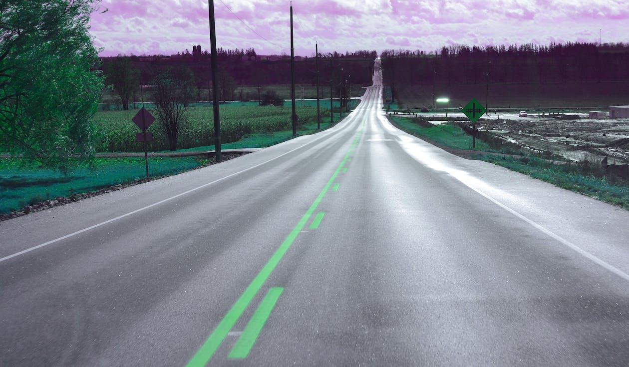 drive, open road, road