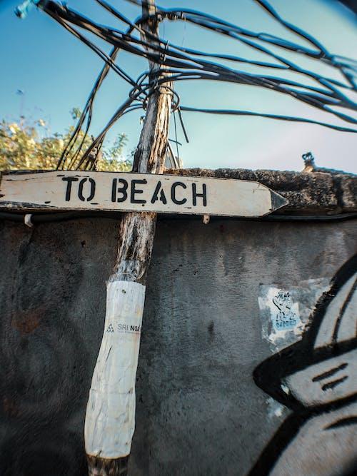 Gratis stockfoto met Bali, pijl, richting, signaal