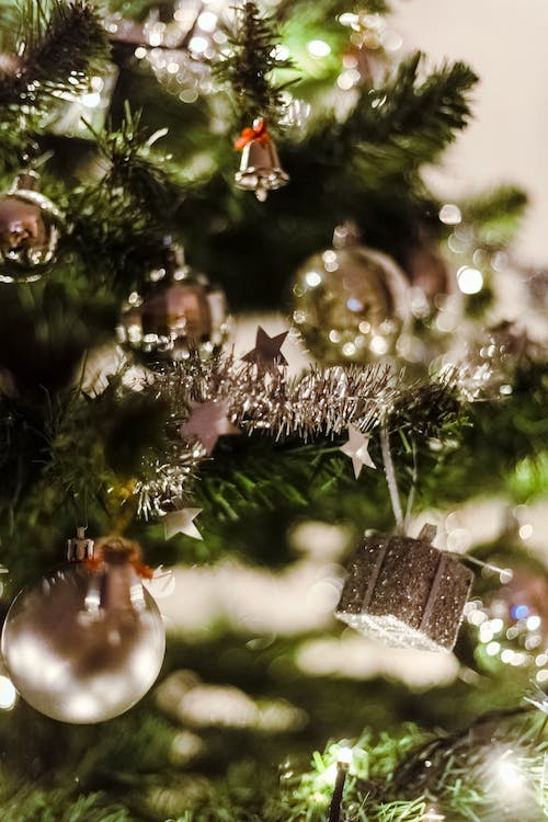 Close-Up Photo of Christmas Ornaments