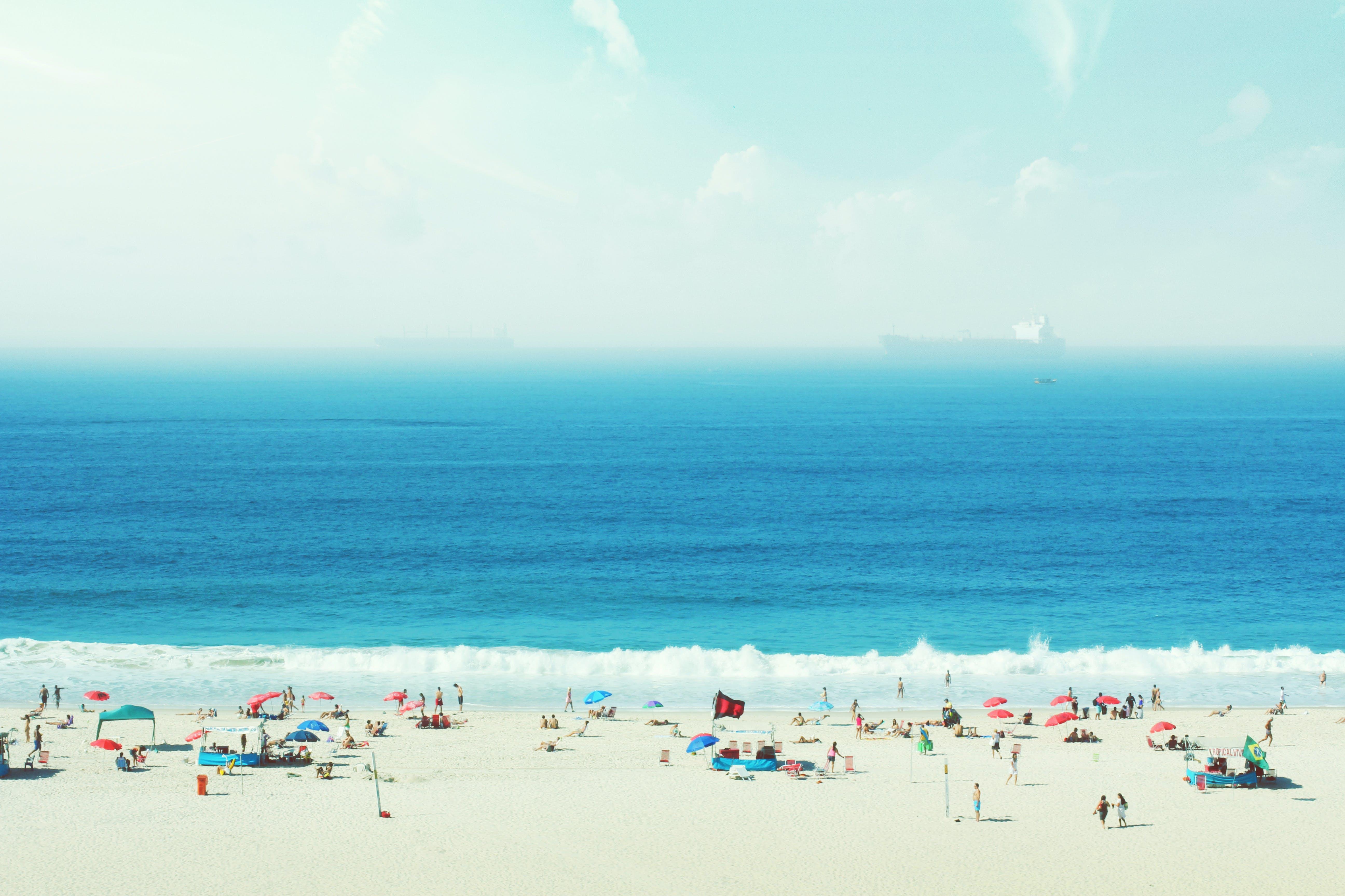 Kostenloses Stock Foto zu atlantisch, blau, brasilien, copacabana