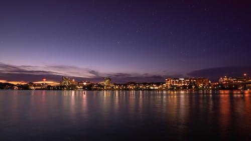 ウォーターフロント, シティ, ポイント州立公園, 夕方の無料の写真素材