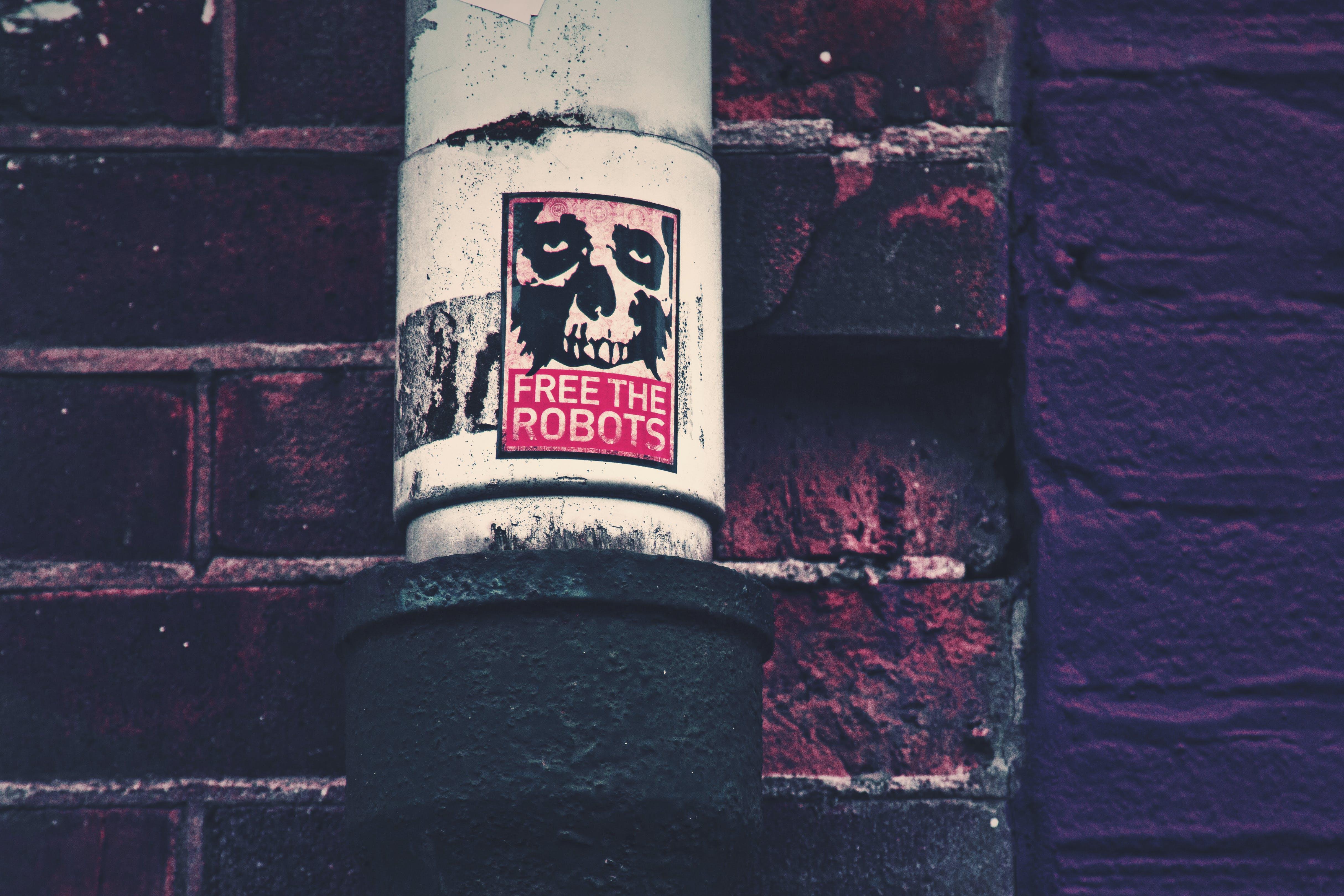 Kostenloses Stock Foto zu aufkleber, frei, freiheit, robots