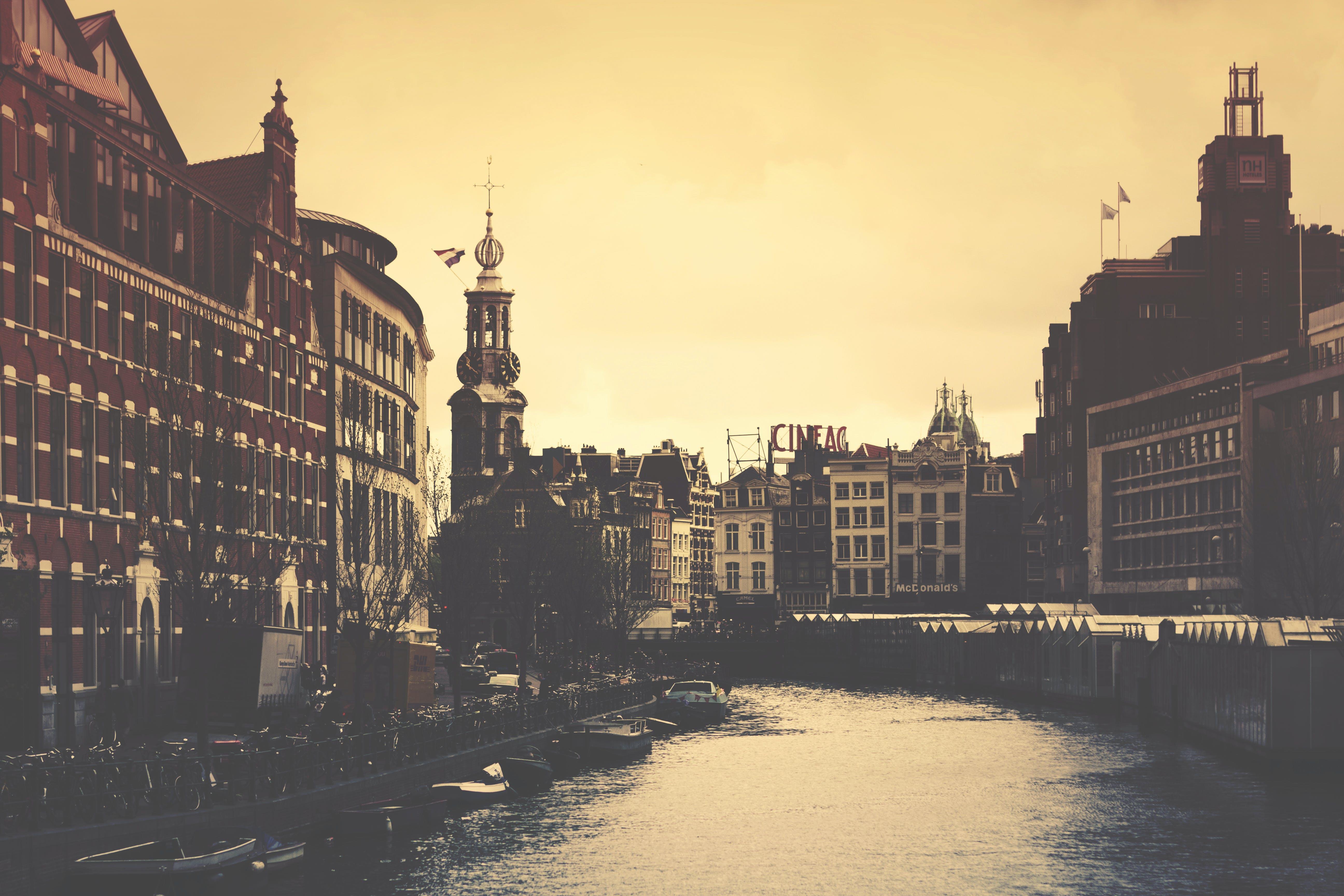 Kostenloses Stock Foto zu amsterdam, architektur, gebäude, holland