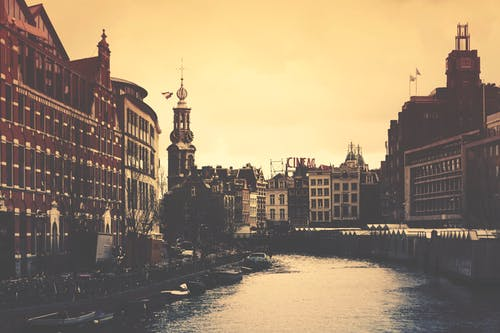Free stock photo of amsterdam, architecture, building, buildings