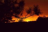 dawn, sunset, sunrise