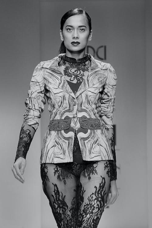 Free stock photo of blackandwhite, canon, fashion, fashion show