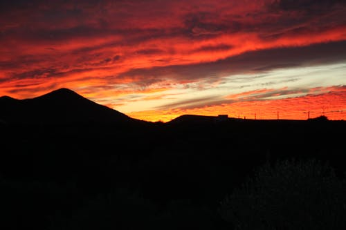 Ingyenes stockfotó ég, fényképészet, naplemente, természet témában