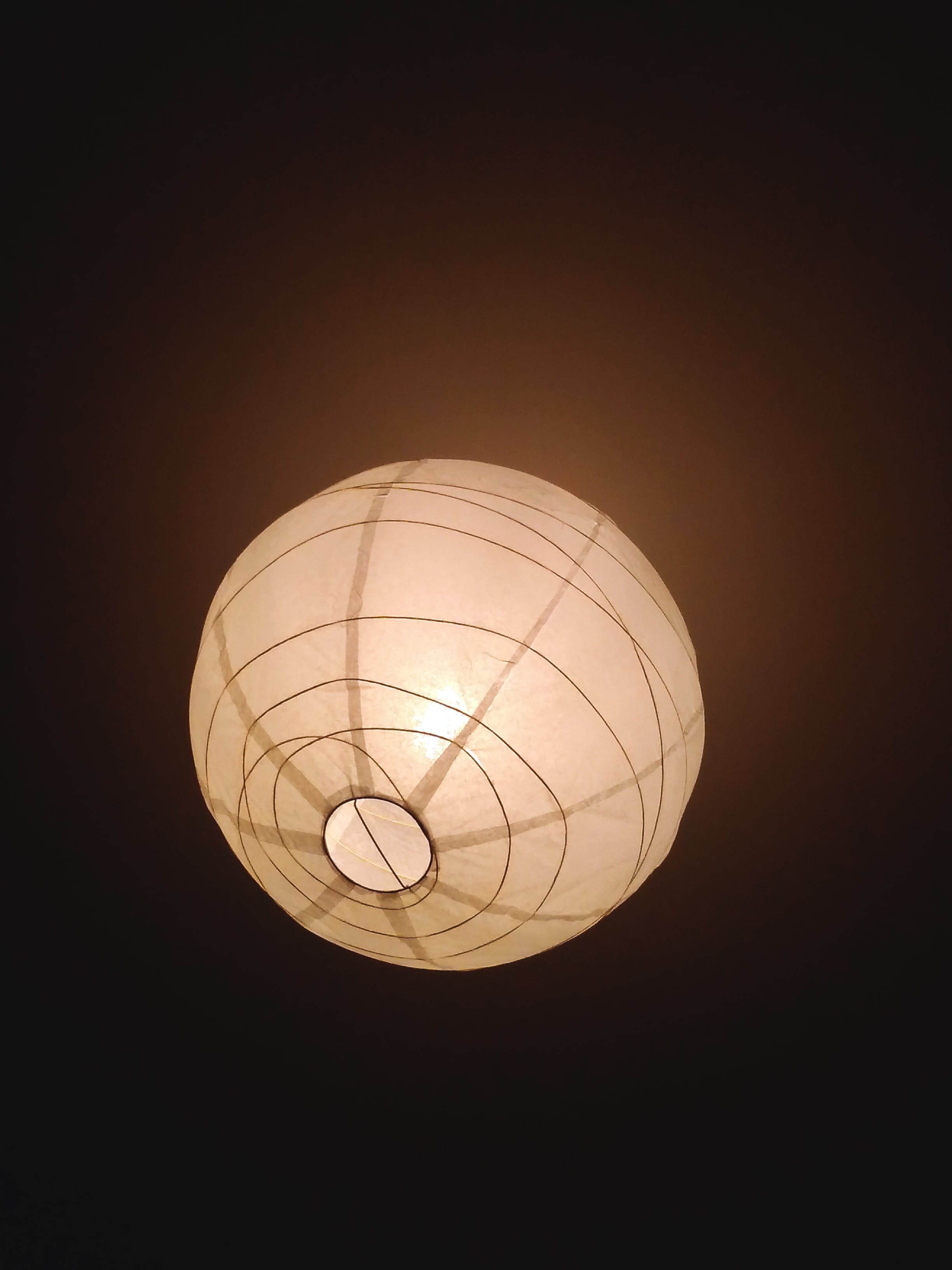 Free stock photo of art, bright, bulb, ceiling lamp