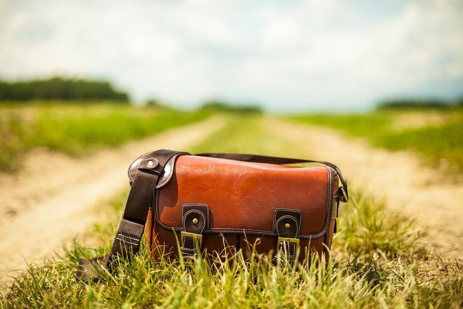 bag, country lane, fashion