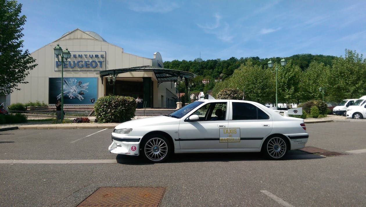 Free stock photo of peugeot 406, taxi 2, taxi marseille