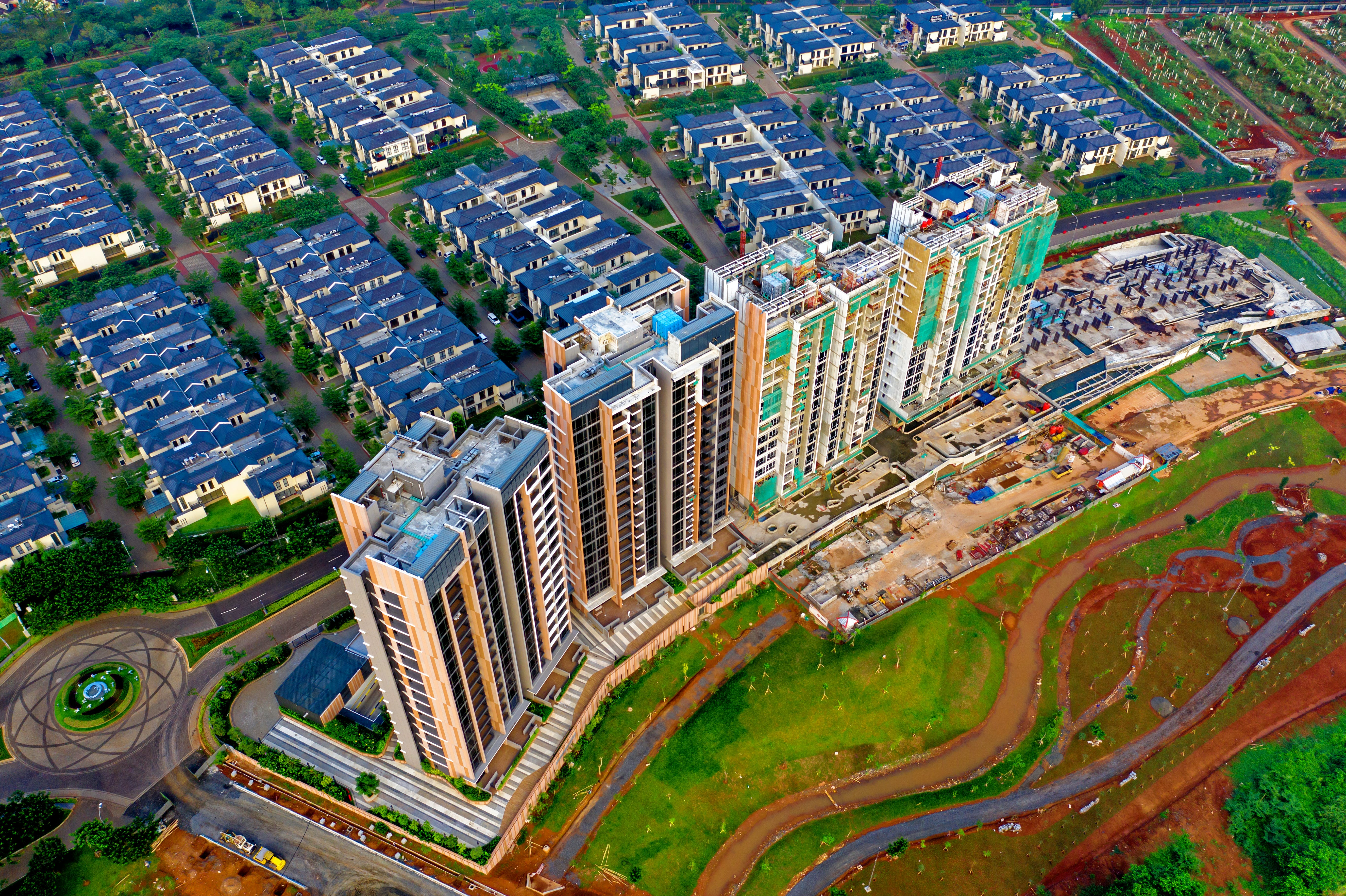 Aerial Photography of Gray High-rise Buildings
