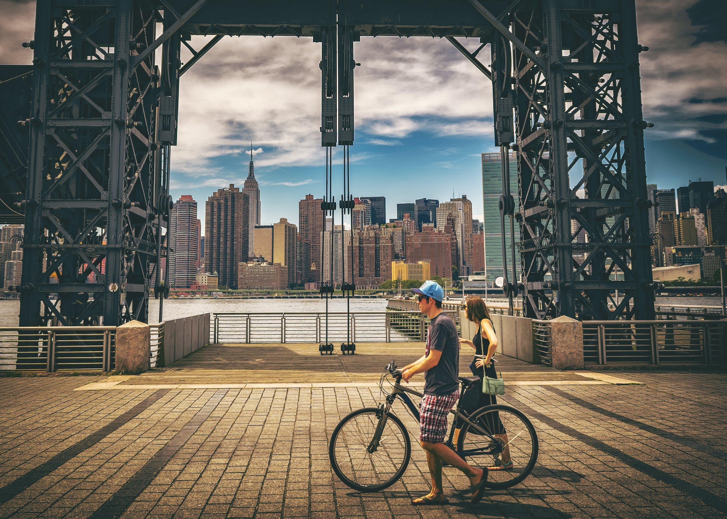 ガントリーパーク, シティービュー, スカイライン, マンハッタンの無料の写真素材
