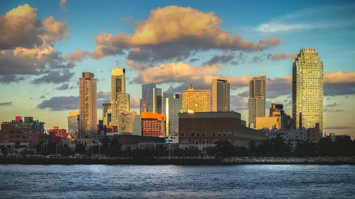 Free stock photo of city view, cityscape, new york city, river bank